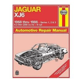 Haynes Workshop Manual - Jaguar XJ6 (1968-1986)