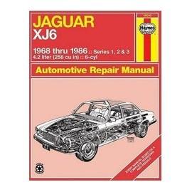 Manuel technique Haynes - Jaguar XJ6 (1968-1986)