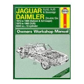Manuel technique Haynes - Jaguar XJ12 (1972-1988)