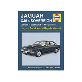 Manuel technique Haynes - Jaguar XJ40 (1986-1994)