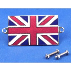 Badge emaillé Union Jack