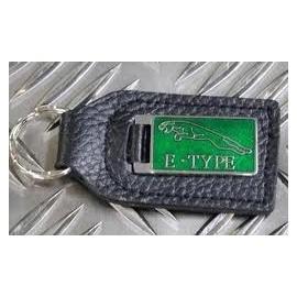 Porte-clés en cuir Type E (Rectangle)