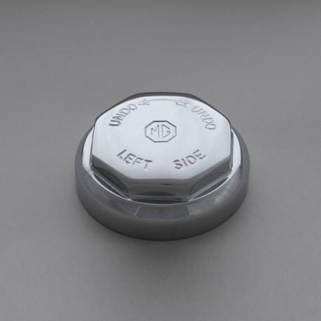 Ecrou de roue octogonal MG, 42mm, 8TPI, LH