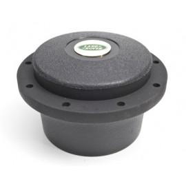 Cache central plastique noir, 89mm