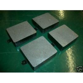 Plaquettes de frein av/arr (XK150, MK2, ES1, MKX)