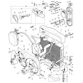 Radiateur de refroidissement (E S2) échange