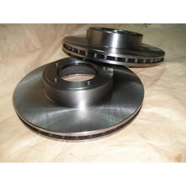 Disque de frein avant ventilé / paire (EV12, XJ)