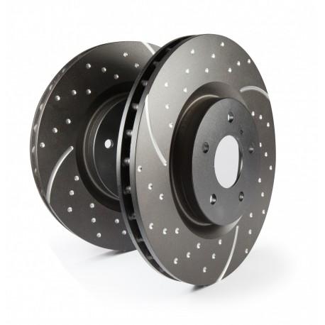 Disque de frein avant ventilé perforé (EV12, XJ)