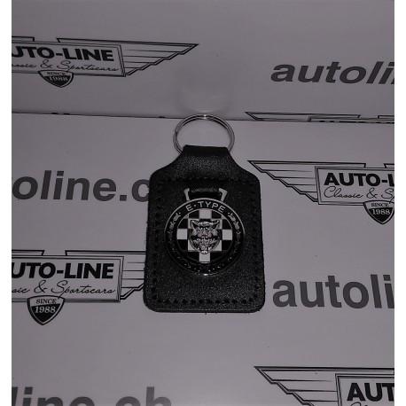 Porte-clés en cuir Type E\