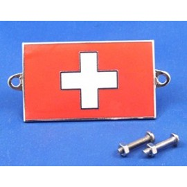 Badge emaillé Suisse