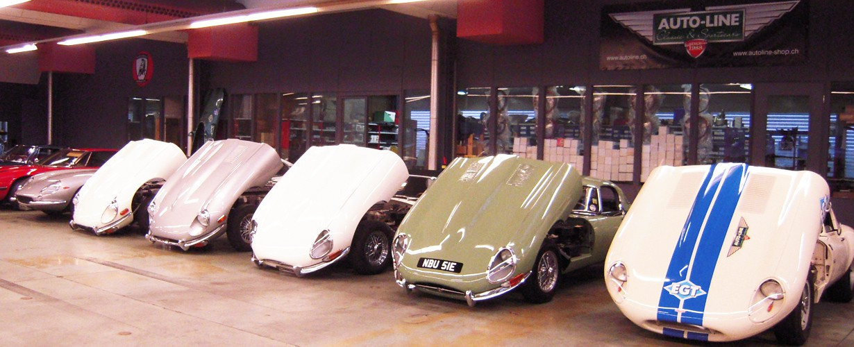 Jaguar Type E : une de nos spécialités !